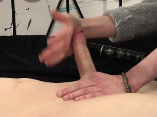 Tube masturbation tranny gay How Much Wanking Can He Take?