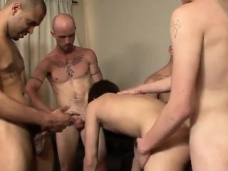 Old gay men sauna orgy From without a condom ass-fuck to blo