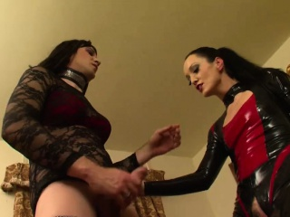 pretty crossdresser fuck latex whore