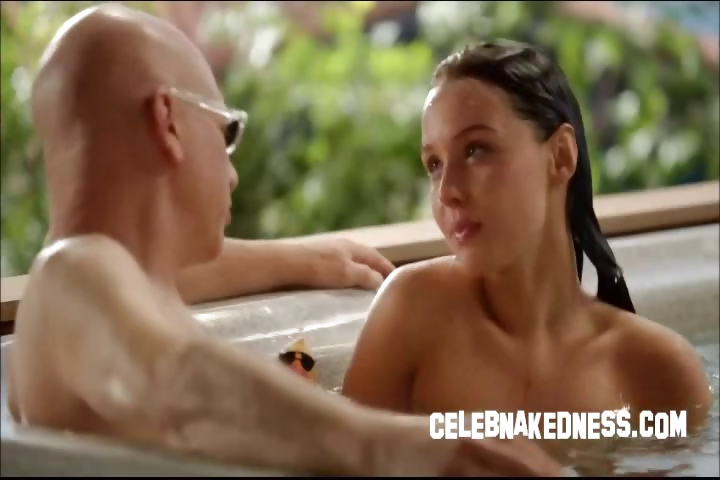 Porno Video of Celeb Camilla Luddington Nude In Hottub Bare Breasts