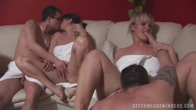 Porno Video of Czech Amateurs At Biggest Swingers Party