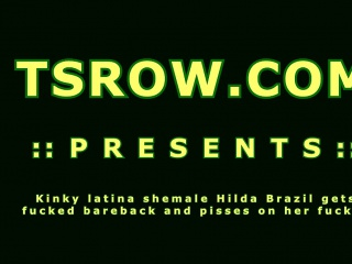 Kinky Shemale Hilda Brazil Gets Fucked Bareback