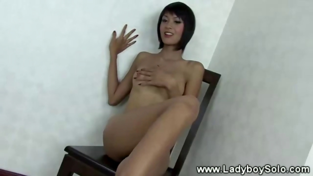 Porno Video of Horny Lady Boy Does Hot Strip Tease
