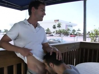 Free gay hardcore porn Real super-hot gay outdoor sex