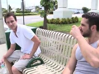 Free gay hardcore porn Real super-hot gay outdoor sex