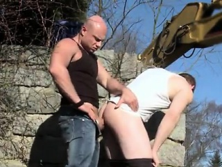 Clip porno gay party first time More like, Men At Anal Work!