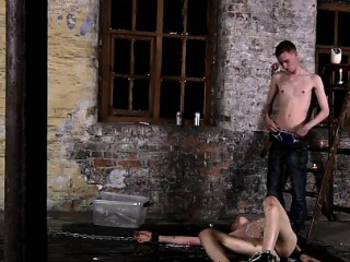 Free gay porn jocks in shorts first time Chained to the ware