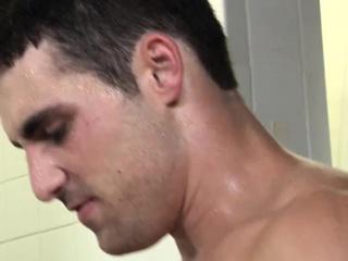 Muscle hunks assfucking twink in prison