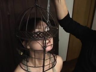 Balls really Bird cage bondage this pron