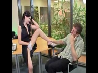 Horny receptionist rebecca linares gets analized 3