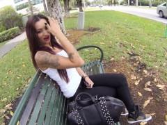 Порно русских на улице видео