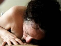 Видео отсос с проглотом