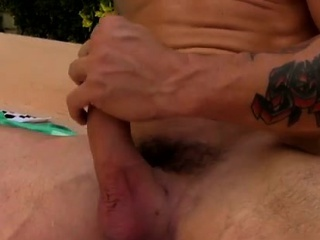 Gay men eating and swallowing sperm porn A Rampant Poolside