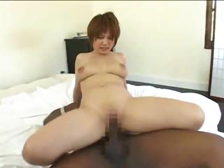 Sex Movie of Asian Girl Tries Big Black Cock