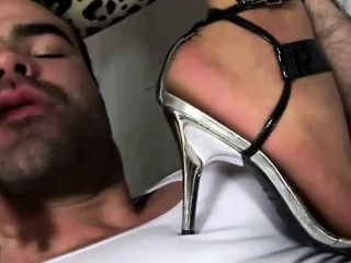 Sexy shemale feet fetish
