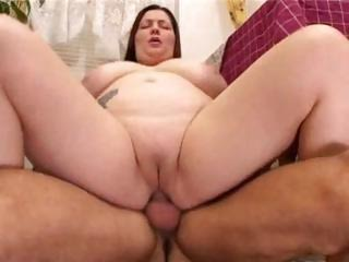 Porno Video of Bbw With Big Tits Fucking In The Kitchen