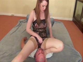 Porn Tube of Lingerie Smother