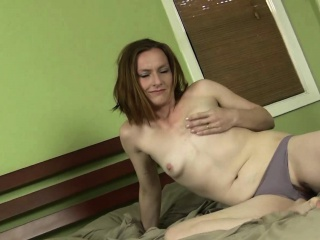 Mature Redhead Amber Gets Down with a Vibrator