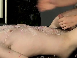 Free gay movies of hairy chested young guys Wanked And Waxed