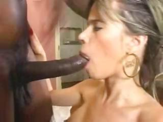 Sex Movie of Skinny Lily, Loves Monster Cock