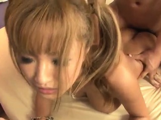 Kurea mutos feels great in serious threesome porn show 1
