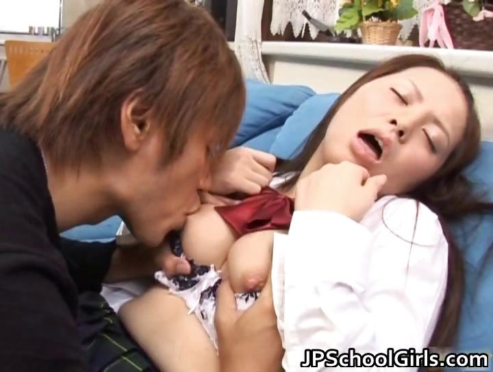 Porno Video of Horny School Girl Hinayo Motoki Juicy Part3
