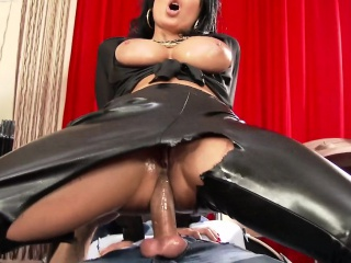 Wam leather hos swap cum