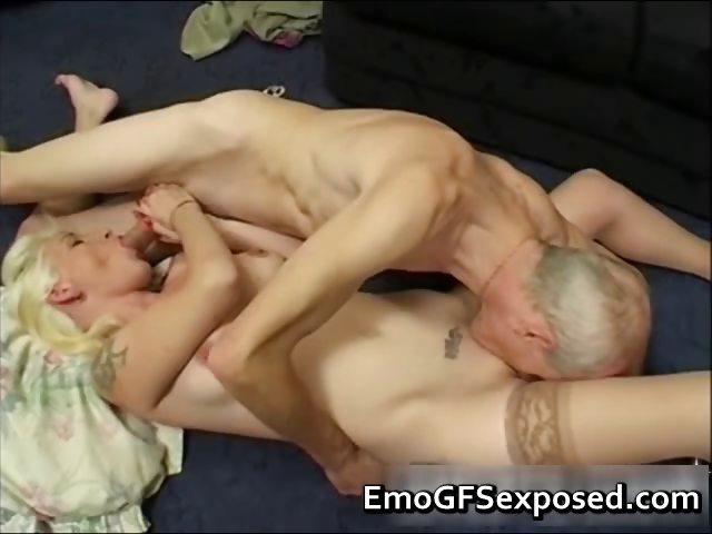 Porn Tube of Old Papy Fucking Young  Tattooed Wife Part4
