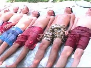 College freshers hazing in outdoor sex games
