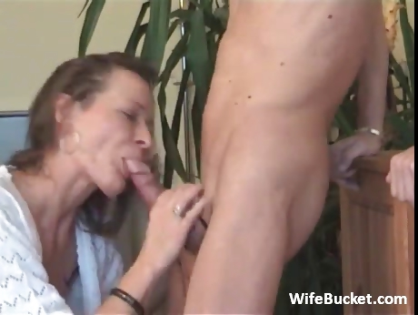 Porno Video of Milf Wife Loves Rough Blowjob