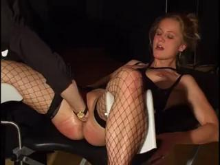 Porno Video of Young Blonde Bottled And Fisted