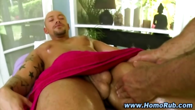 Porno Video of Gay Straight Guy Oil Massage Seduction