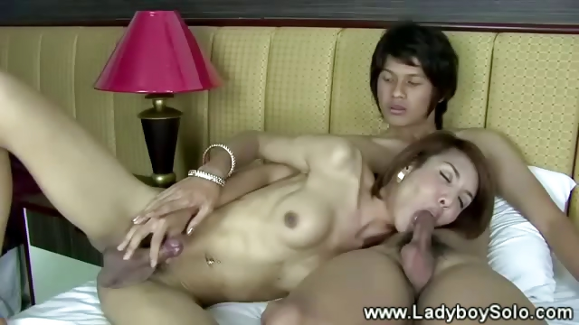 Porno Video of Lady Boy Gives Bj Then Gets Anal From Asian
