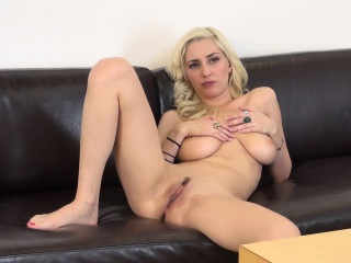 buxom blonde nympho shay laren expresses her passion for masturbation
