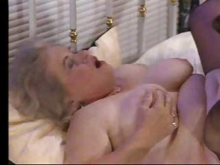 Porno Video of Naughty Plump Granny Gets It On With A Much Younger Hung Dude
