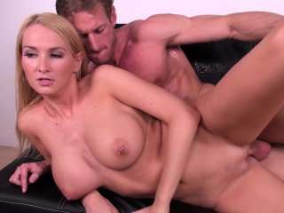 stacked blonde with a divine ass blake rose loves to fuck a long stick