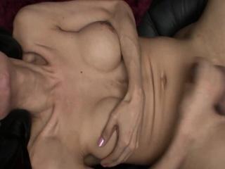 Natalia - Mature Shemale Lonely And Masturbating