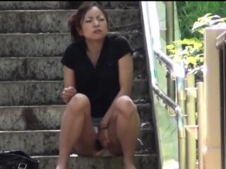Japanese Slut Pee Panties...