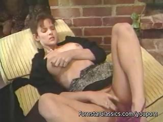 Porn Tube of Hardcore Vintage Action With A Brunette Masturbating Her Snatch Outdoors