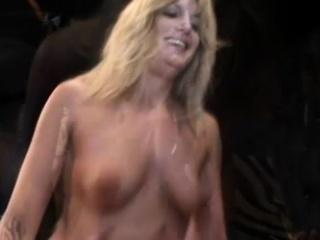 Wild mature lady has a hard stick providing the pleasure she desires