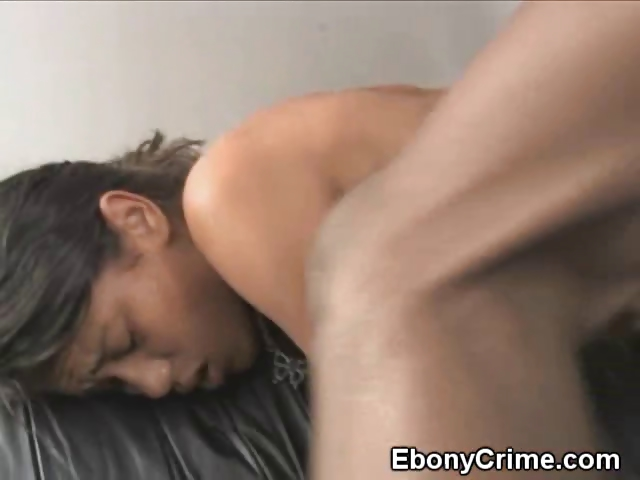 Porno Video of Bent Over Black Chick Gets Her Pussy Pounded