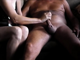 Mature couple creating a sex tape. mp4