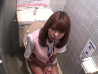 Cute ass asian pee spycam