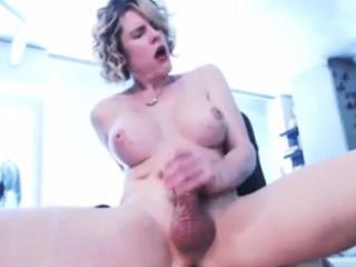 Shemales WILD Masturbation Video