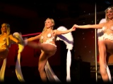 sexy ballet dancers in skimpy costumes show what they know