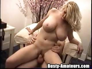 Porn Tube of Busty Amateur Porn Star Heather Rides On A Hard White Cock