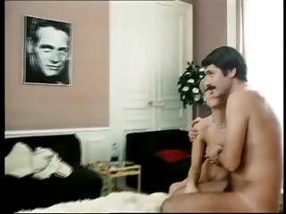 Classic vintage clip of several porn stars in nasty fuck scenes