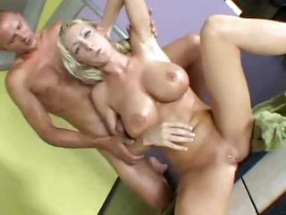 Porn Tube of Blonde Nadia Hilton Hardcore
