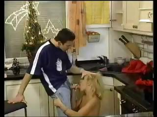 Porno Video of Hot Blonde Dru Berrymore Gets Licked And Fucked At The Christmas Party