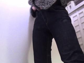 Cute ass asian pee public